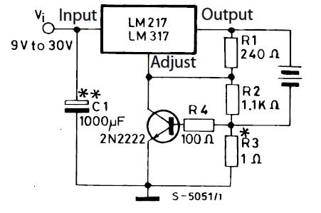 Зарядное устройство на 6 В, с ограничением по току