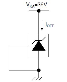 Тестовая цепь для Ioff