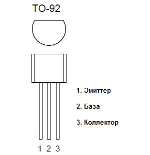 Цоколевка транзистора s8550