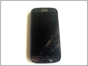 Шаг 1. Замена стекла Samsung Galaxy s3