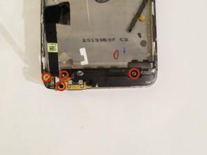 Замена динамика HTC One - Шаг 12.1