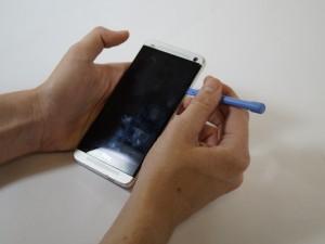 Разборка HTC One Шаг1