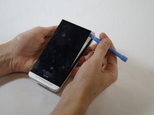 Разборка HTC One Шаг 2