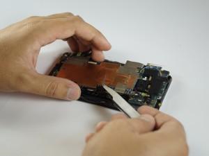 Замена динамика HTC One - Шаг 9.1