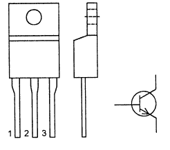 Цоколевка транзистора BU406