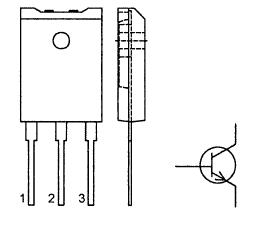 Цоколевка транзистора BU508AF