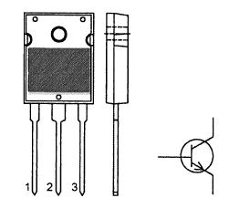 Цоколевка транзистора BU508AW