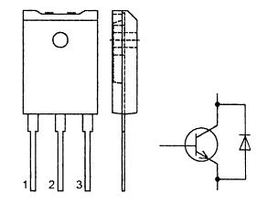 Цоколевка транзистора BU508DF