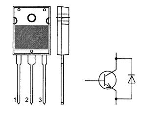 Цоколевка транзистора BU508DW