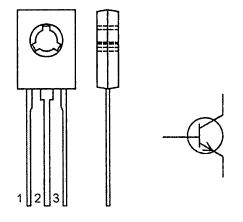 Цоколевка транзистора MJE13003