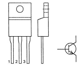 Цоколевка транзистора MJE13005