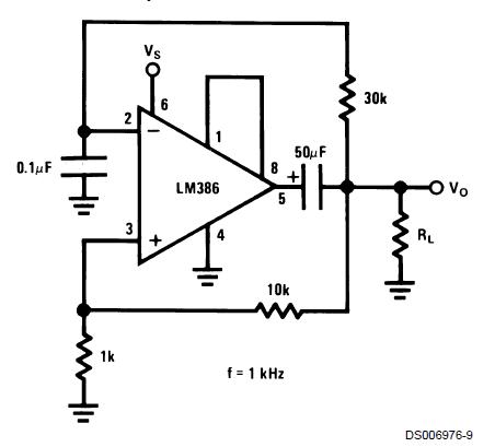 Схема генератора Меандра