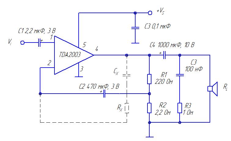 Микросхема 6650 схема