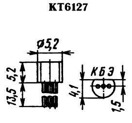 Цоколевка транзистора КТ6127