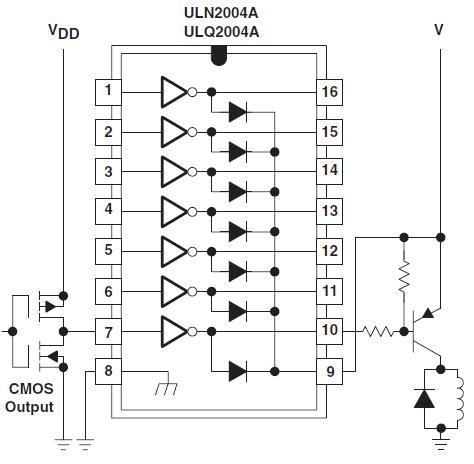 Буфер для подключения больших токовых нагрузок