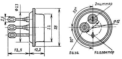 Цоколевка транзистора КТ903