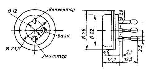 Цоколевка транзистора КТ908