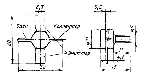 Цоколевка транзистора КТ911