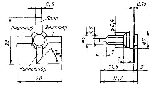 Цоколевка транзистора КТ913