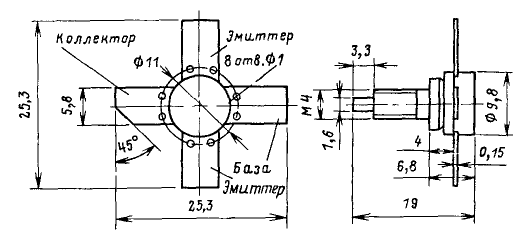 Цоколевка транзистора КТ920