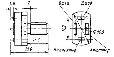 Цоколевка транзистора КТ927