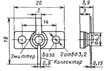 Цоколевка транзистора КТ937