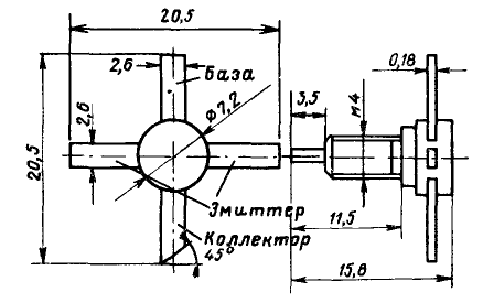 Цоколевка транзистора КТ939