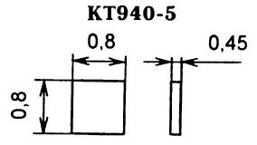 Цоколевка транзистора КТ940-5