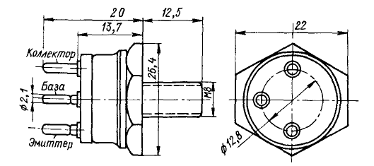 Цоколевка транзистора КТ947