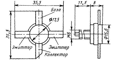 Цоколевка транзисторов КТ956, КТ957
