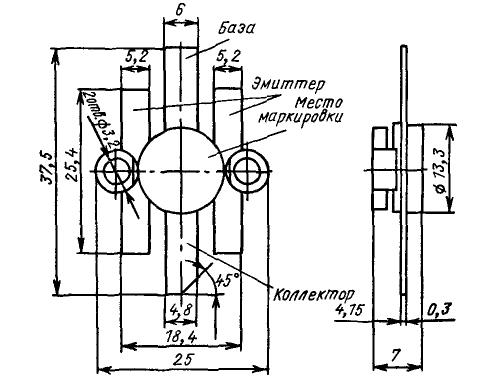 Цоколевка транзисторов КТ958, КТ960