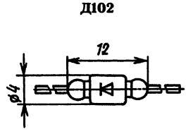 Корпус диода Д102