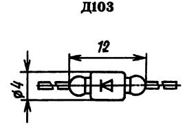 Корпус диода Д103
