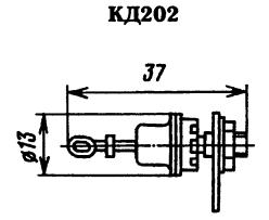 Корпус диода КД202