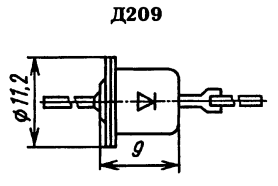 Корпус диода КД209
