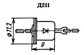 Корпус диода Д211