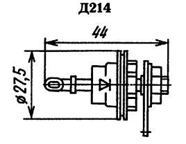 Корпус диода Д214