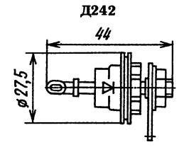 Корпус диода Д242