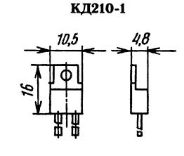 Корпус диода КД210