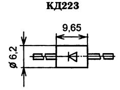 Корпус диода КД223