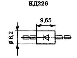 Корпус диода КД226