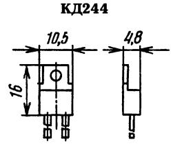 Корпус диода КД244