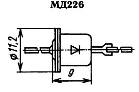 Корпус диода МД226