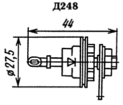 Корпус диода Д248