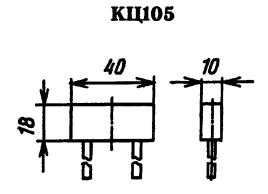 Корпус выпрямительного столба КЦ105