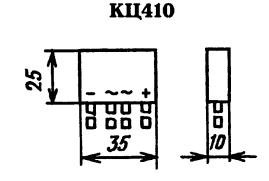 Корпус диодного моста КЦ410
