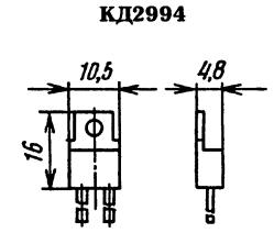 Корпус диода КД2994