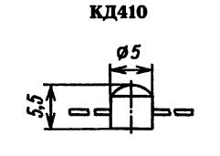 Корпус диода КД410