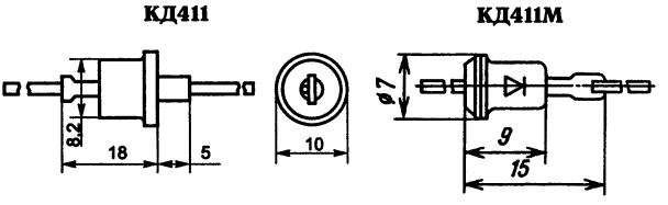 Корпус диода К411
