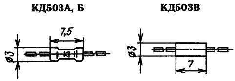 Корпус диода КД503